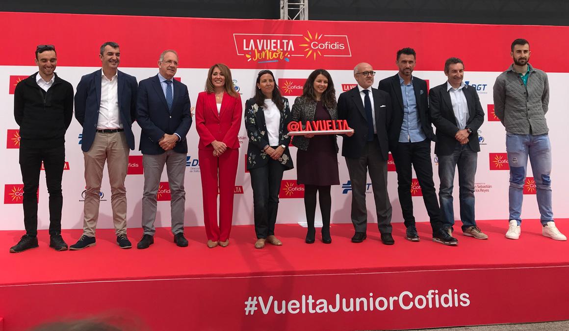 La Vuelta Junior Cofidis forma a los niños en educación vial y hábitos saludables