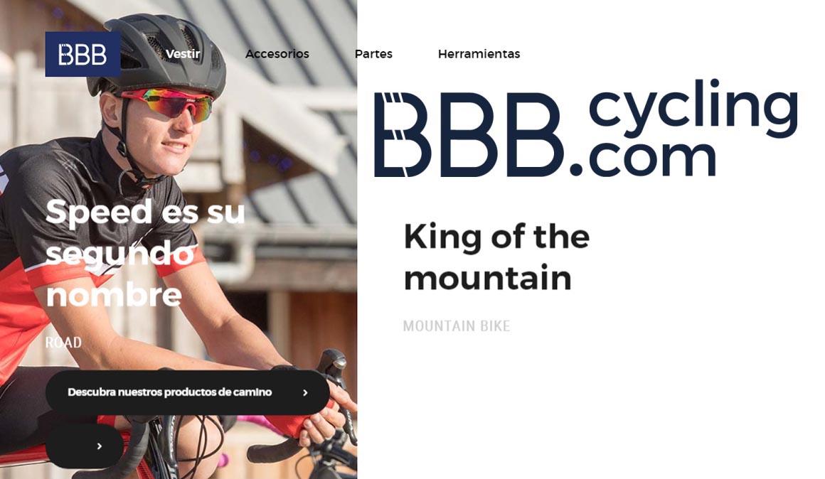 BBB CYCLING distribuido en la península ibérica por BH