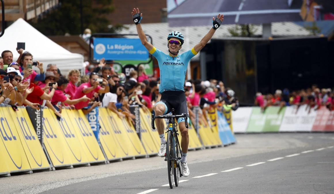 Pello Bilbao, victoria a lo grande en el Dauphiné