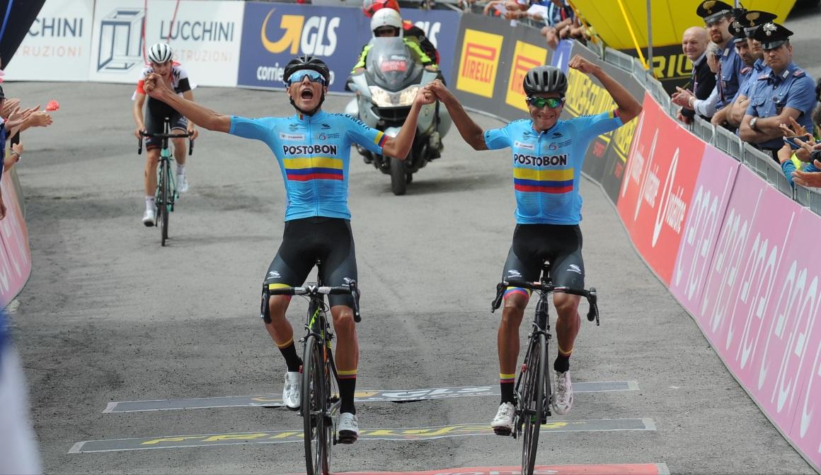 Giro sub´23: cuesta arriba fue Colombia
