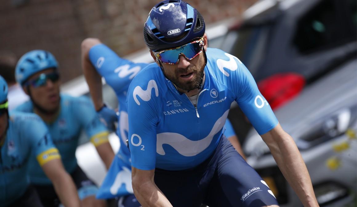 Valverde vuelve a la competición en la Route d'Occitanie
