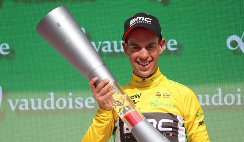 El australiano Richie Porte 'regresa' en la Vuelta a Suiza