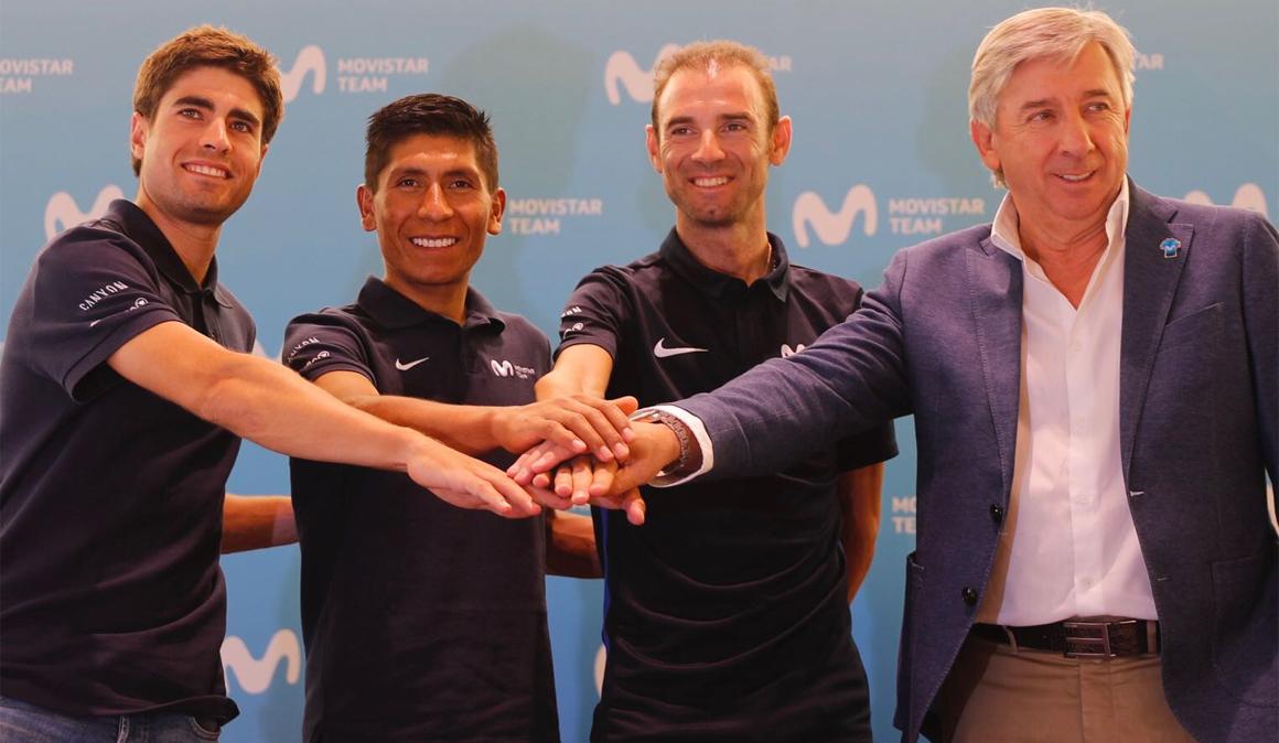 La carretera decidirá el líder del Movistar Team en el Tour de Francia