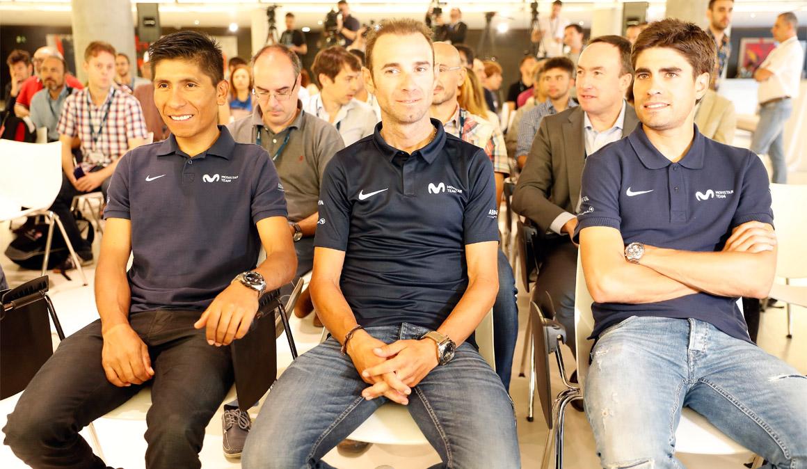 Nairo, Landa y Valverde: impresiones antes del Tour