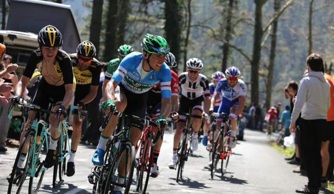 Jonathan Lastra, el viaje del ciclista
