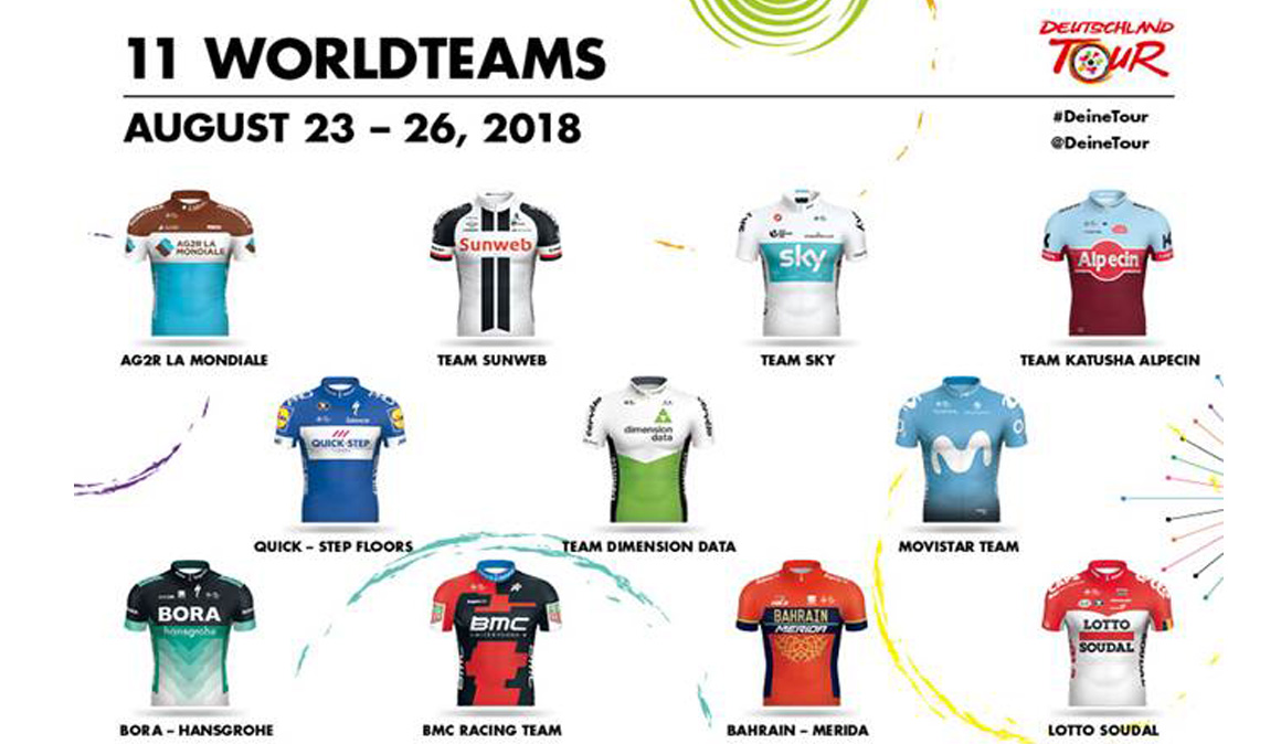 Vuelve la Vuelta a Alemania con 11 equipos World Tour