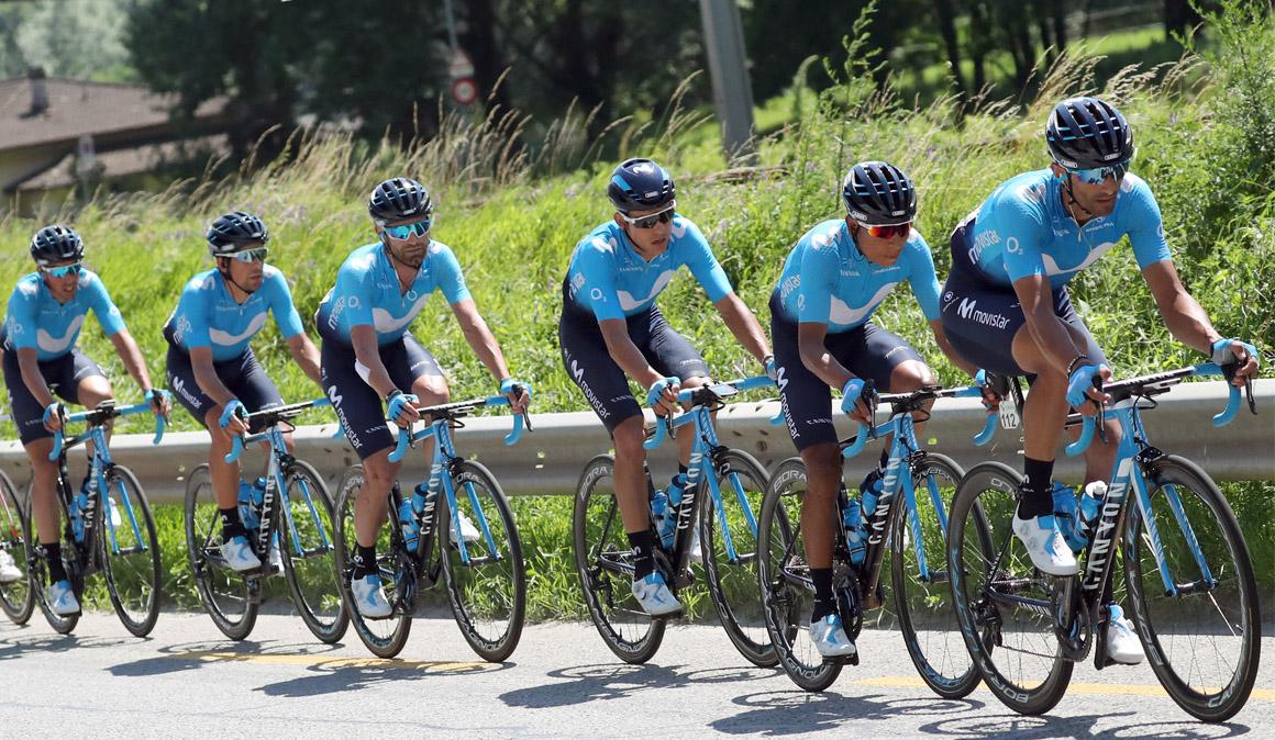 Movistar Team, a mantener su hegemonía en el Campeonato de España en ruta
