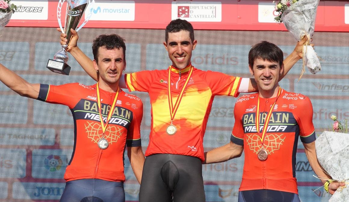 Jonathan Castroviejo, campeón de España contrarreloj por 4ª vez