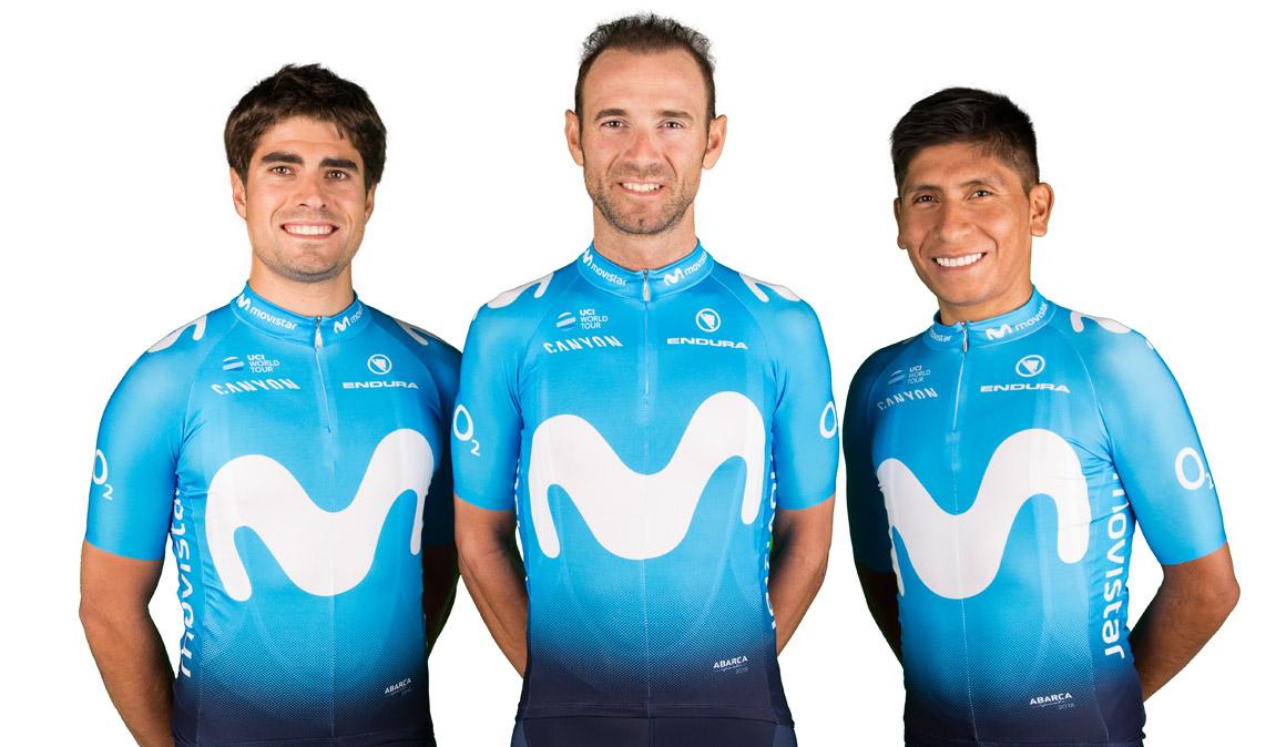 Movistar Team confirma su equipo para el Tour de Francia