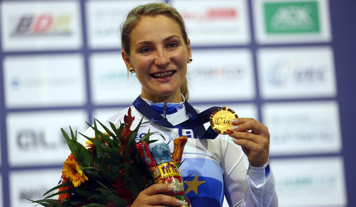 Grave accidente de la bicampeona olímpica Kristina Vogel