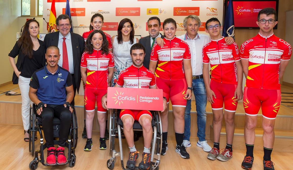 Nace el equipo Cofidis de Promesas Paralímpicas
