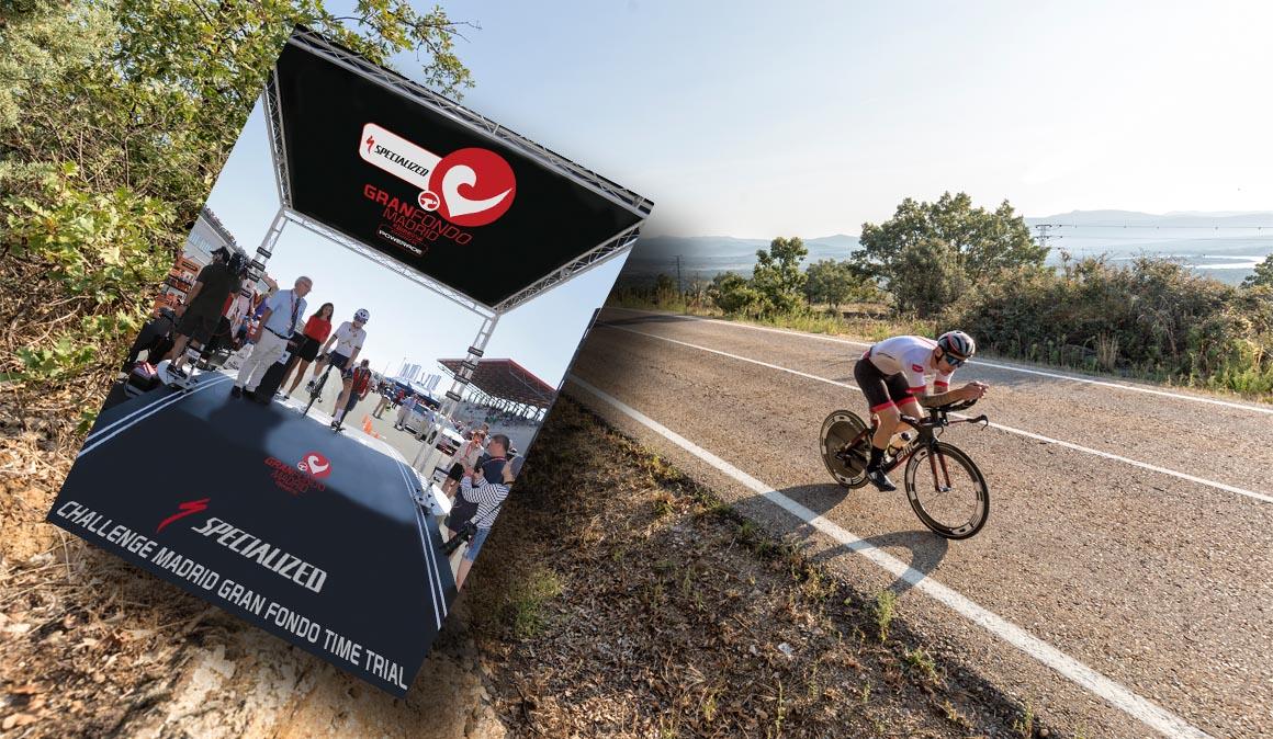 171 km de contrarreloj en la Gran Fondo Madrid