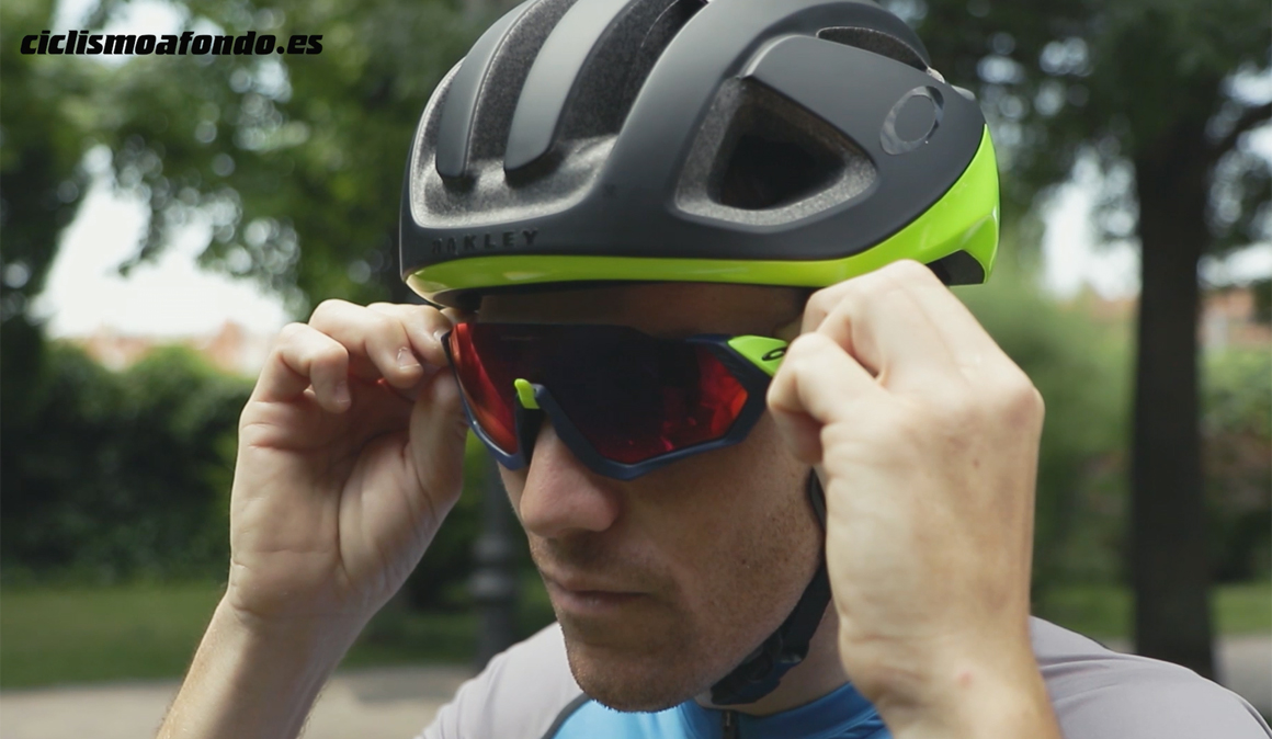 Lo nuevo de Oakley para los ojos del ciclista