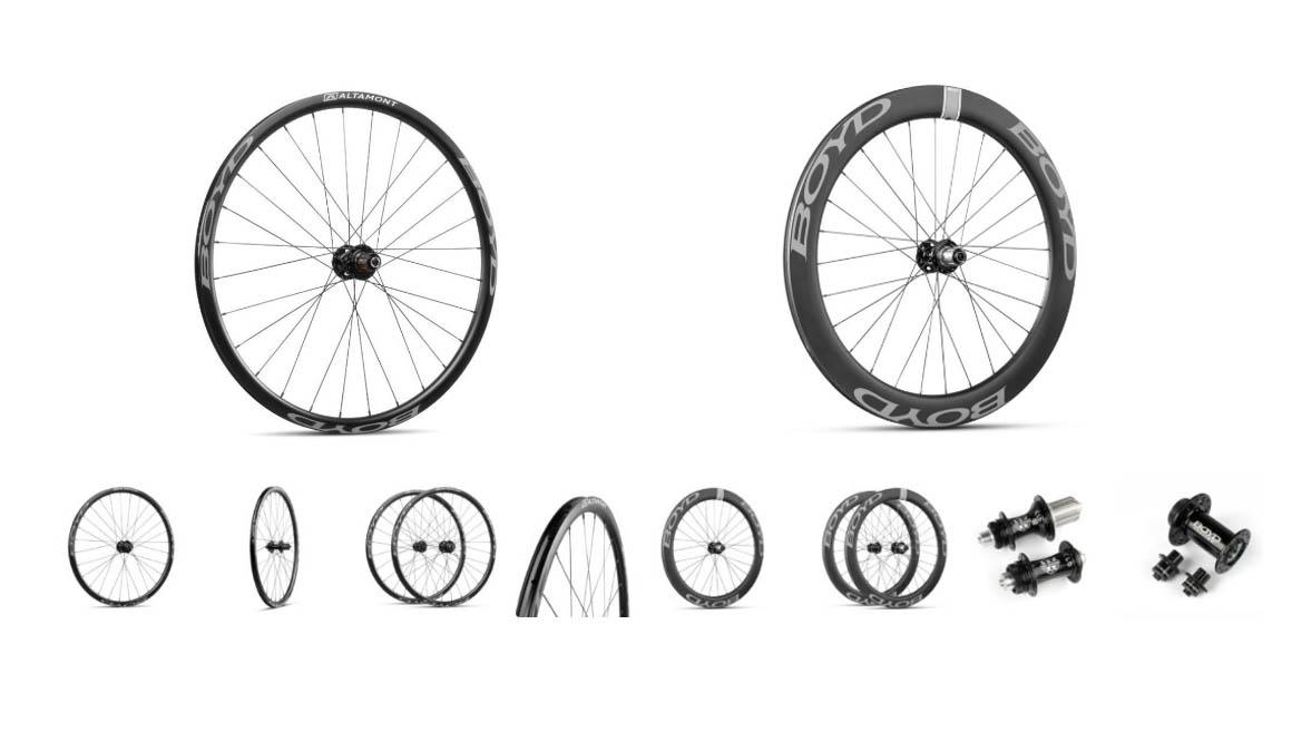 Nuevas ruedas Boyd