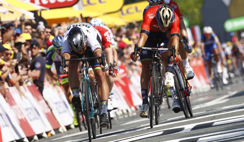 Etapa y liderato para Peter Sagan en el Tour