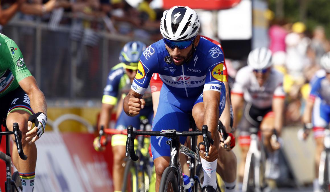 Fernando Gaviria, el rey del sprint