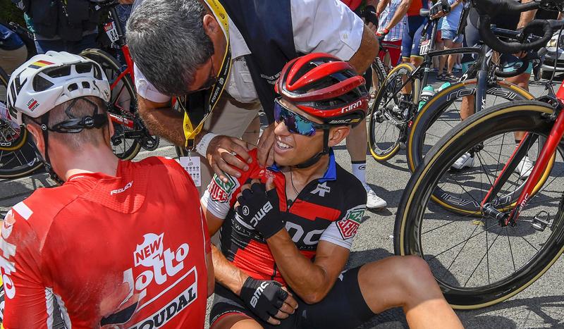 Richie Porte abandona entre lágrimas el Tour de Francia