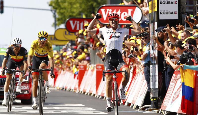 El mejor John Degenkolb emerge en Roubaix