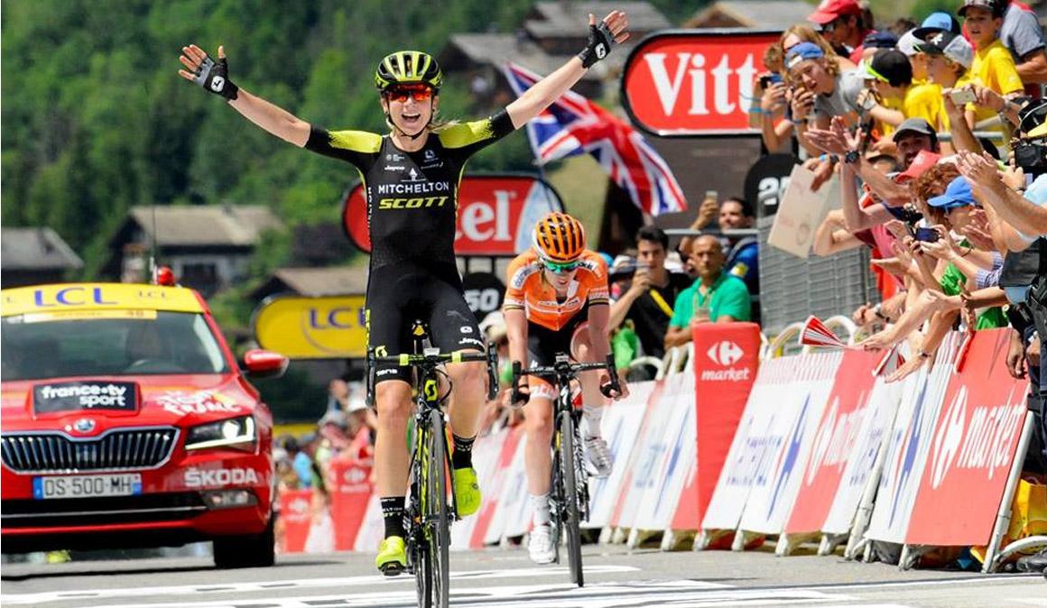 Espectacular victoria de Van Vleuten en La Course by Le Tour