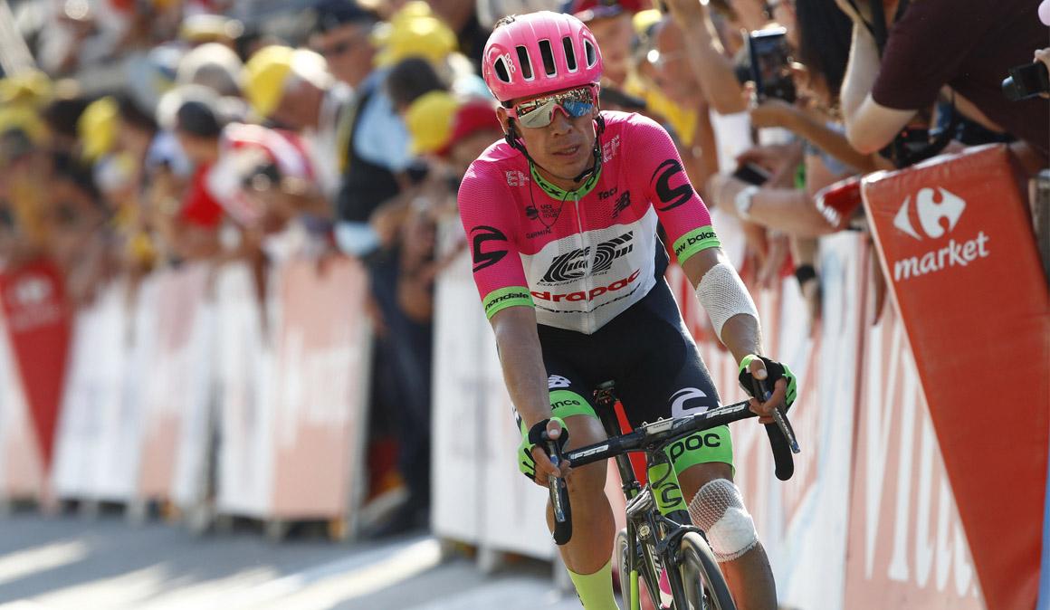 Urán se retira del Tour por las lesiones de la caída de Roubaix