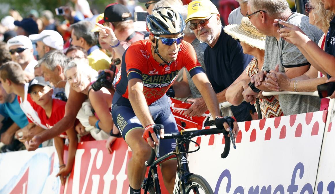 Nibali abandona el Tour con fractura en una vértebra