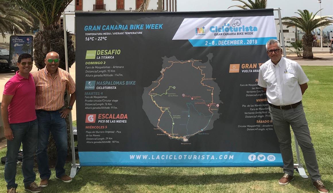 La Cicloturista Gran Canaria Bike Week y la FICGC, a una en la 30 edición