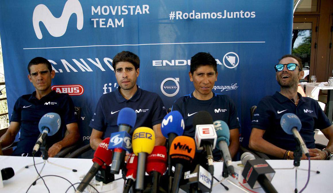 Los líderes del Movistar Team no tiran la toalla