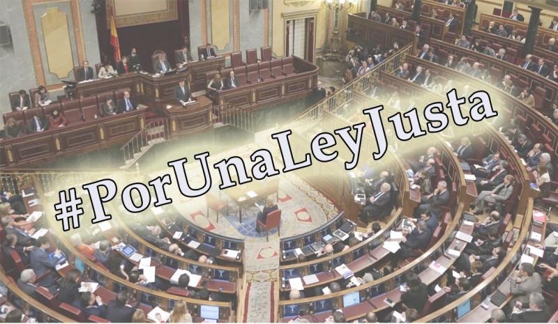 Reunión para intentar desbloquear la situación parlamentaria de #PorUnaLeyJusta