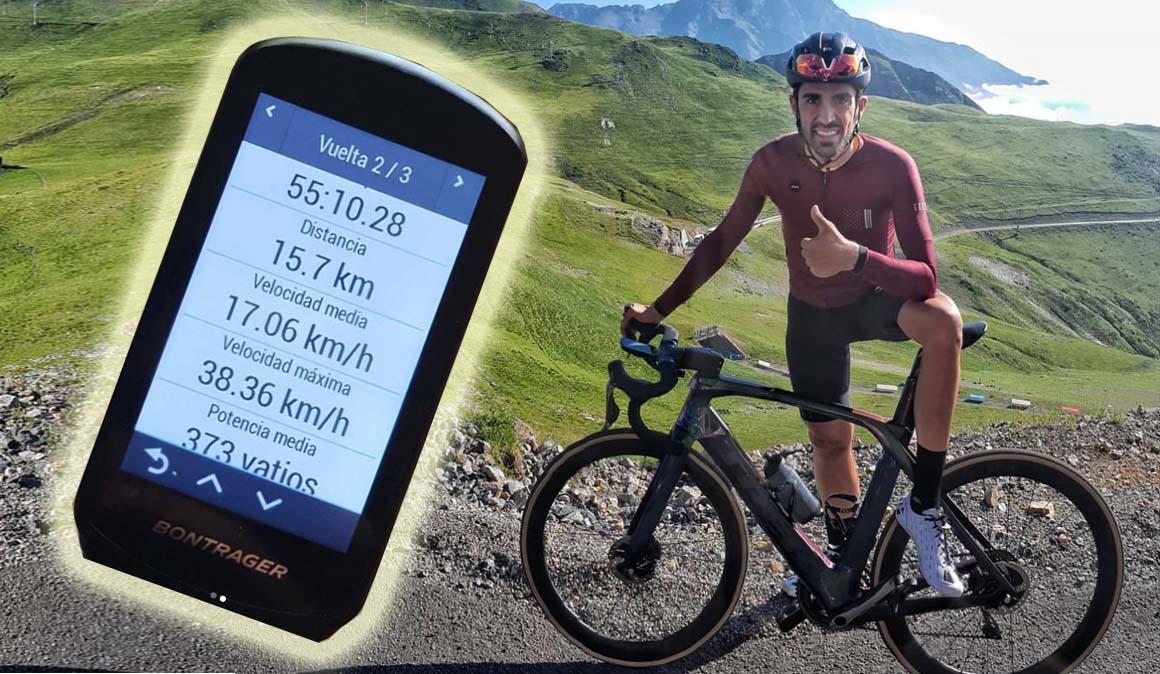 El tiempazo de Alberto Contador en el Col du Portet