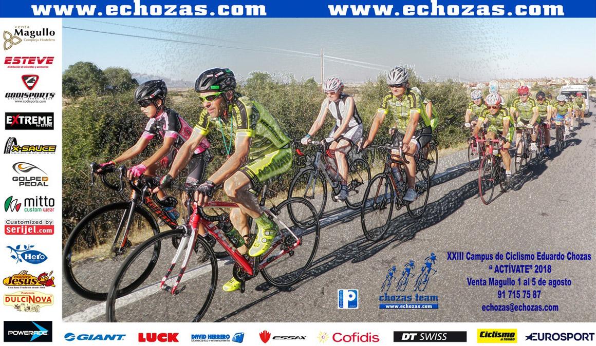 "Campus de ciclismo ""Activate"" Eduardo Chozas en Segovia"