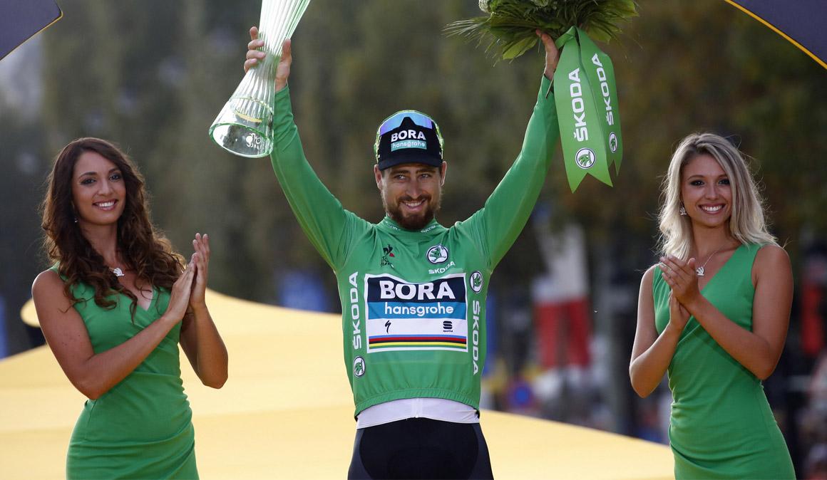 Sagan vuelve a liderar el UCI World Ranking