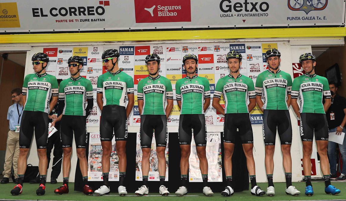 Preselección de Caja Rural para la Vuelta a España