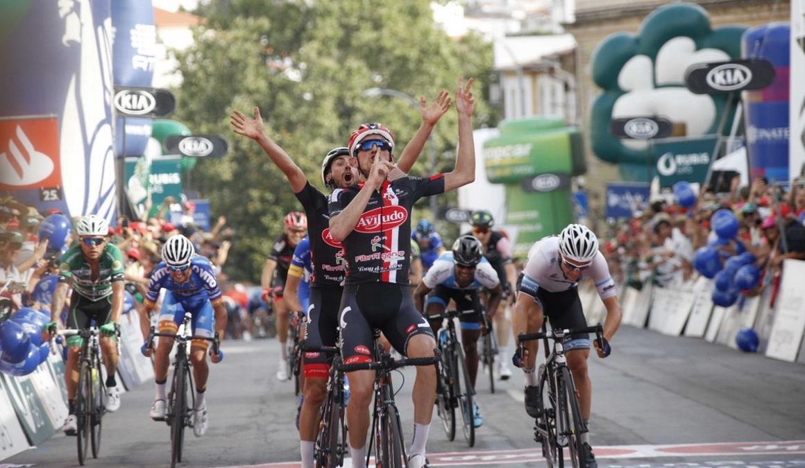 Volta Portugal: García de Mateos gana la 2ª etapa; Reis sigue líder