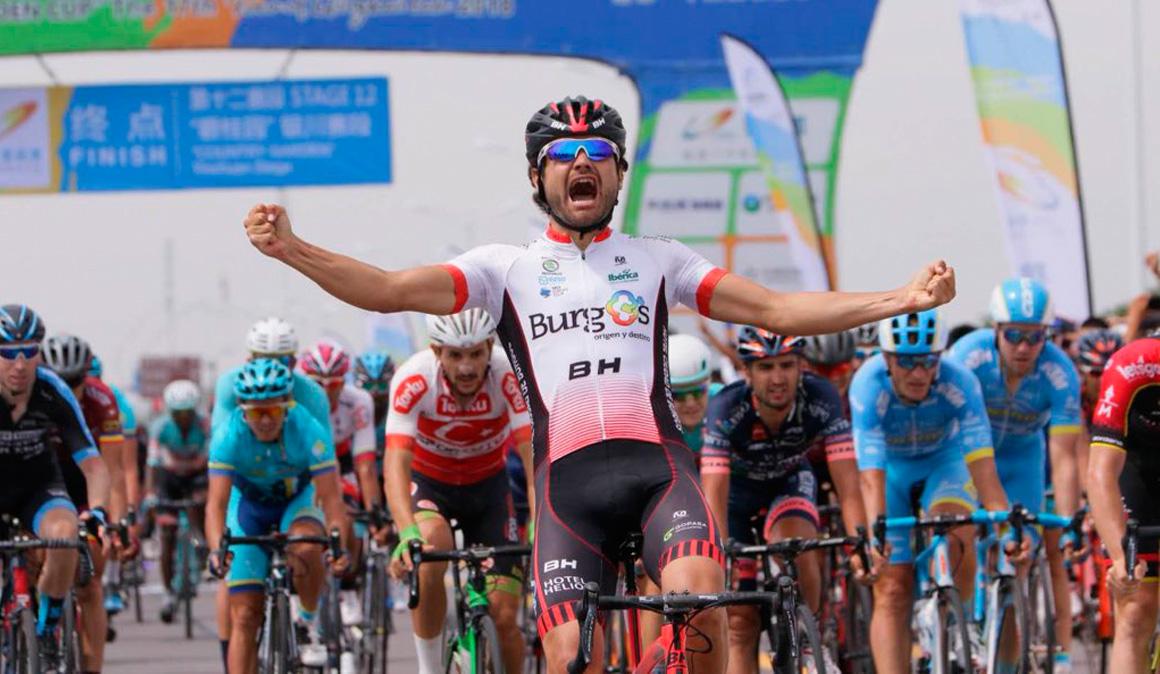 Burgos BH estrena en China su cuenta de victorias de la temporada