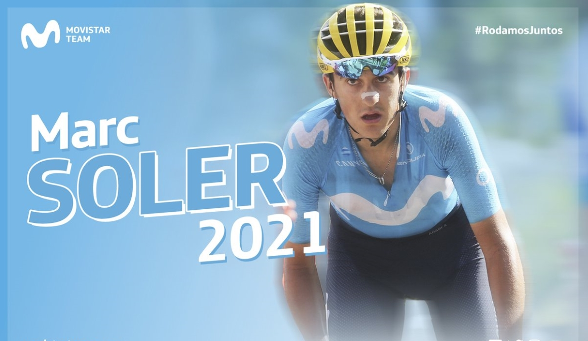 Marc Soler renueva con Movistar Team hasta 2021