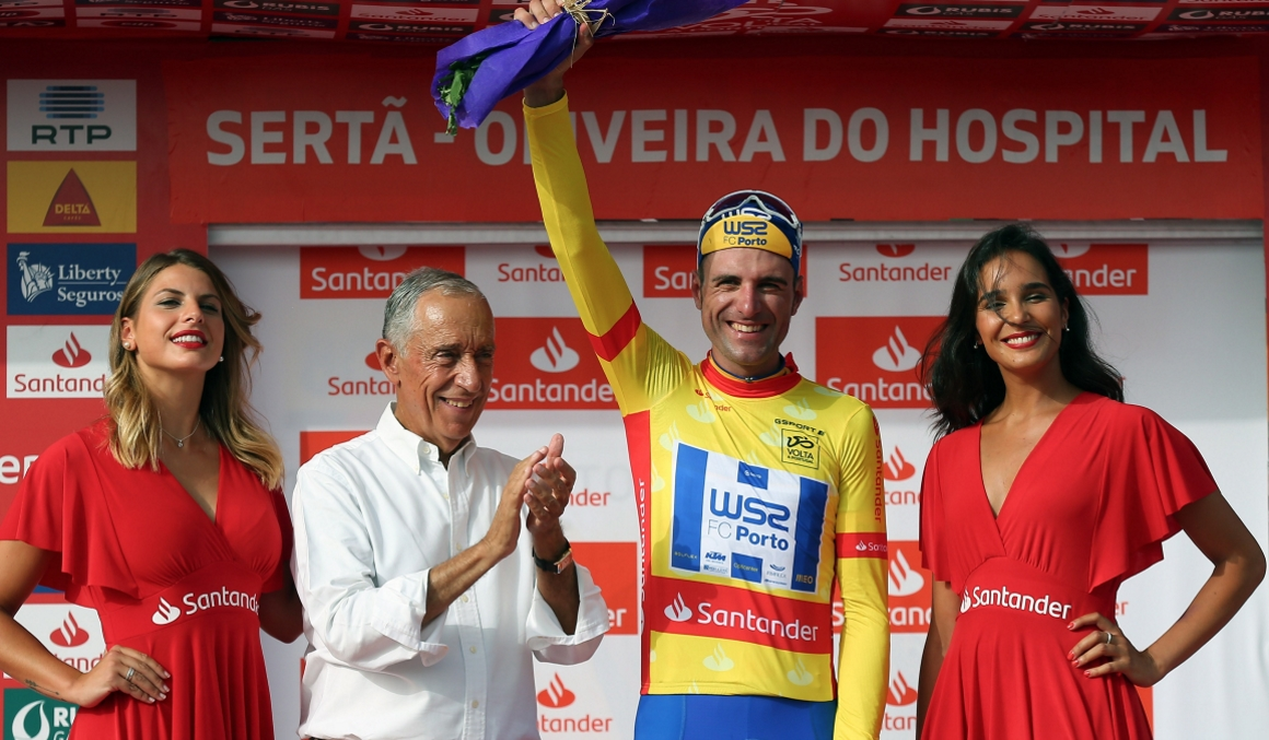 Raúl Alarcón gana la 3ª etapa de la Volta a Portugal y se coloca líder