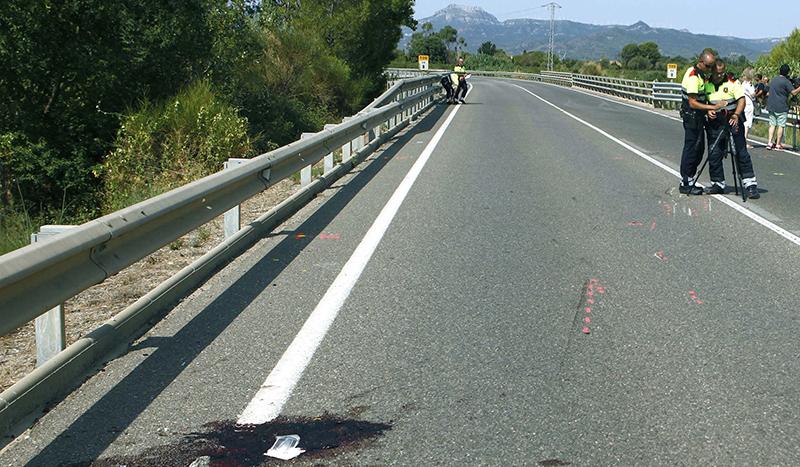 Mueren dos ciclistas en Tarragona, arrollados por un conductor que da positivo en drogas