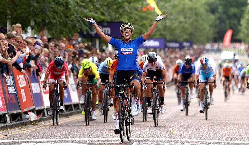 Marta Bastianelli, nueva campeona de Europa de fondo en carretera