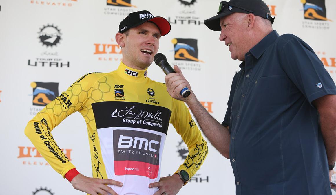 Van Garderen, primer líder del Tour de Utah
