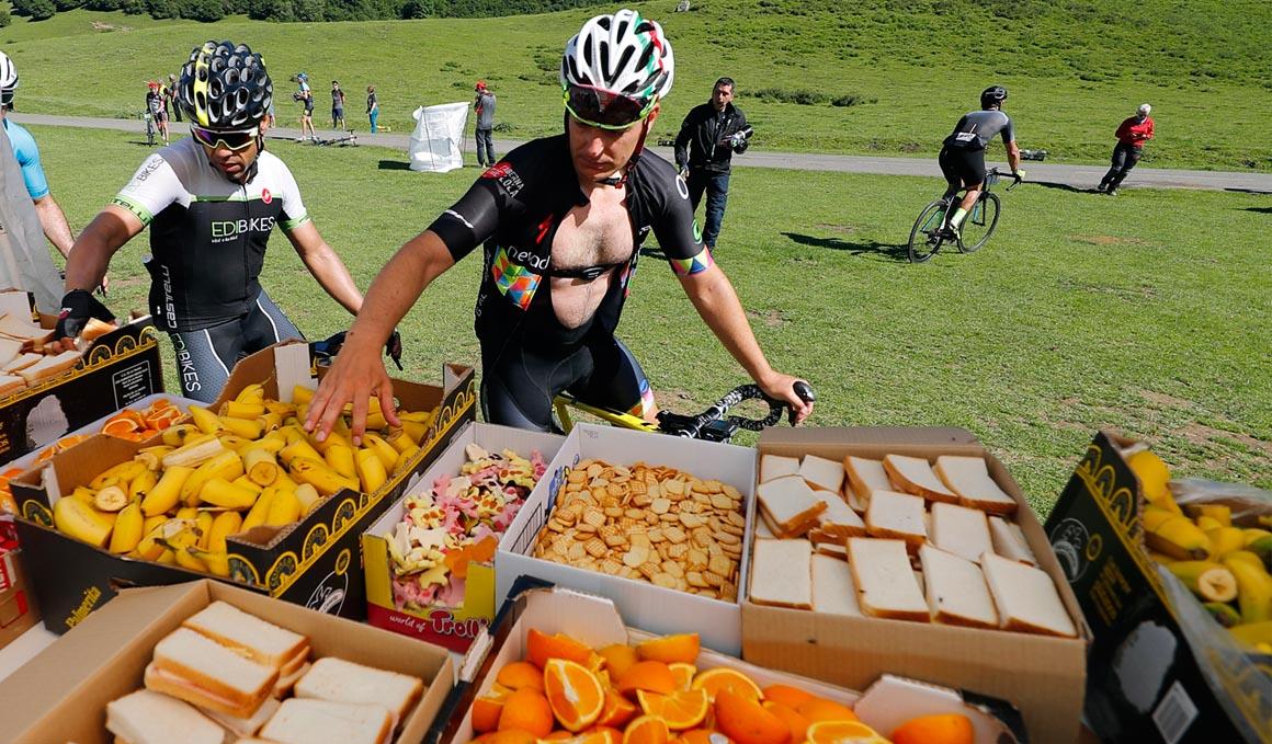 El desayuno para el día de la marcha cicloturista