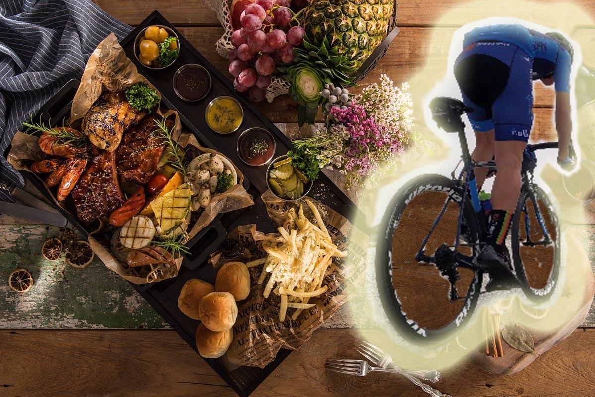 Las 10 falsas creencias de la alimentación de un ciclista