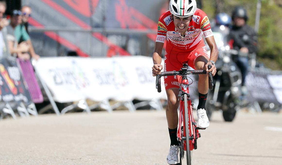 El colombiano Iván Ramiro Sosa se impone en la Vuelta a Burgos 2018