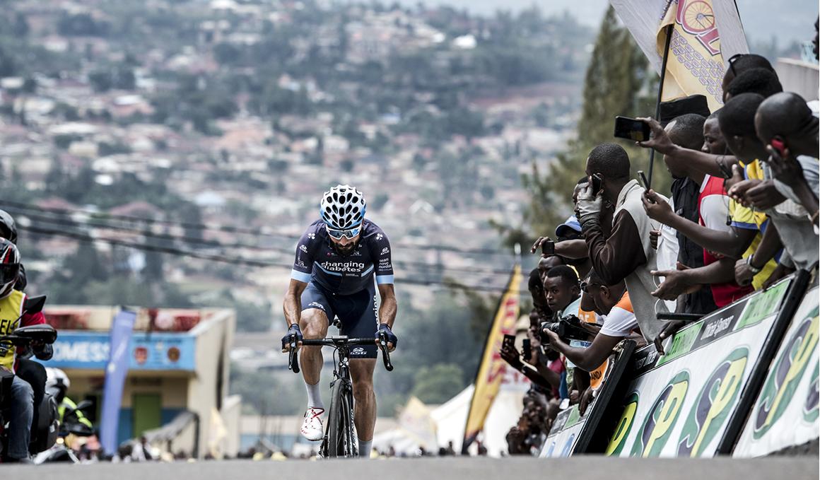 David Lozano, ganador de la séptima etapa del Tour de Rwanda