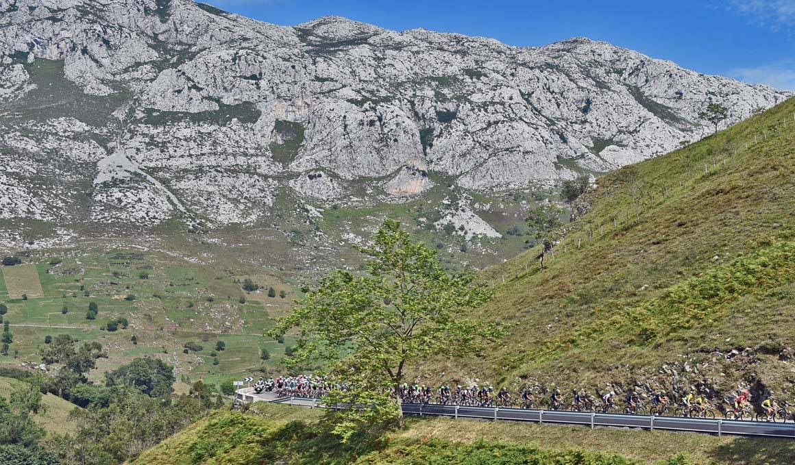 La montaña de la Vuelta a España 2018