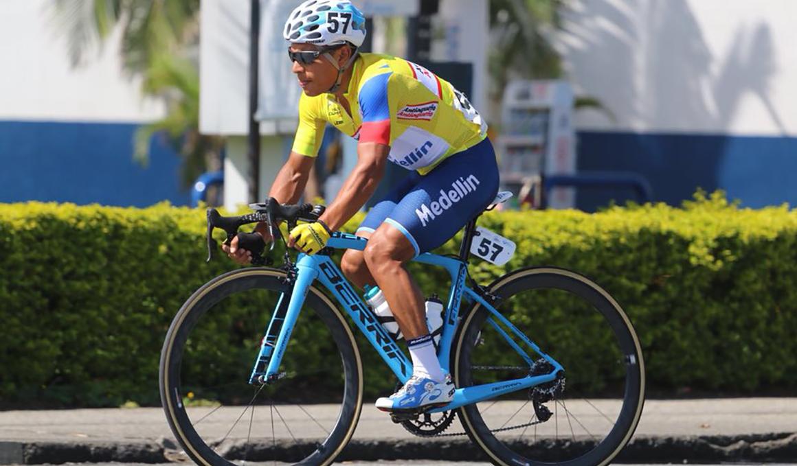 Jonathan Caicedo, ganador de la Vuelta a Colombia 2018