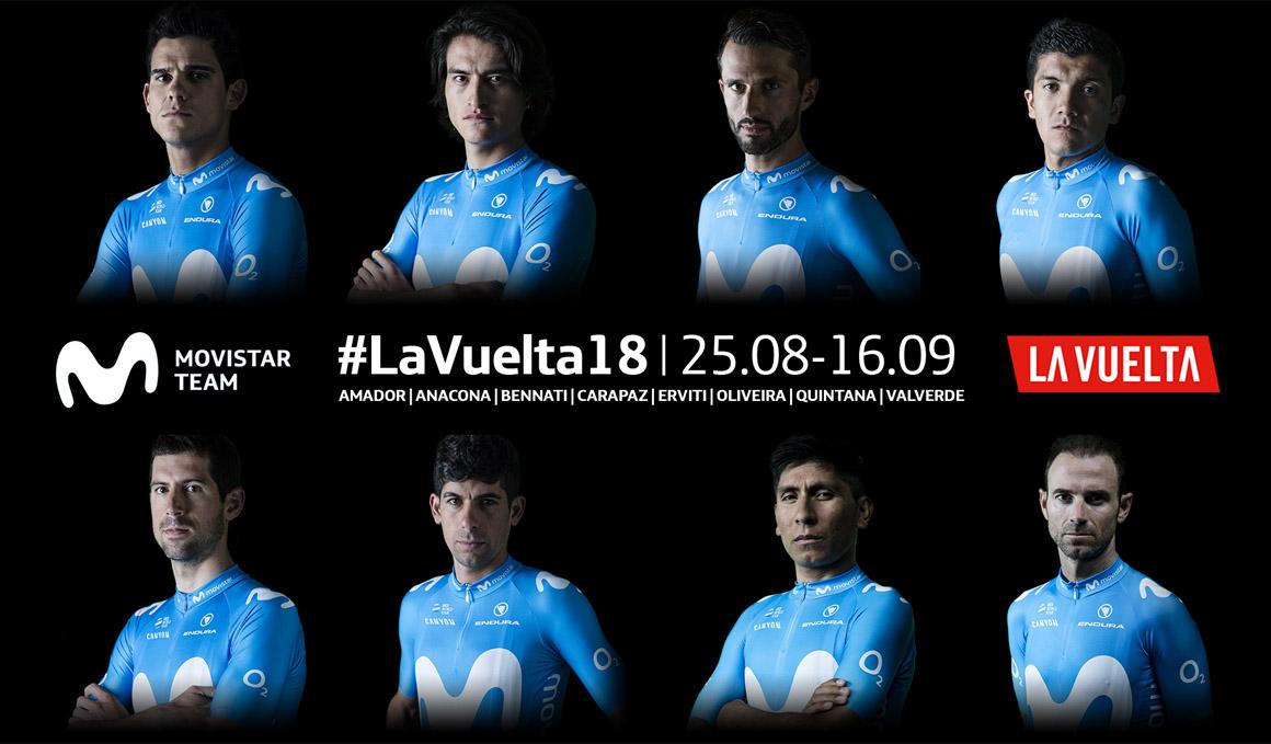 Nairo Quintana liderará al Movistar Team en La Vuelta