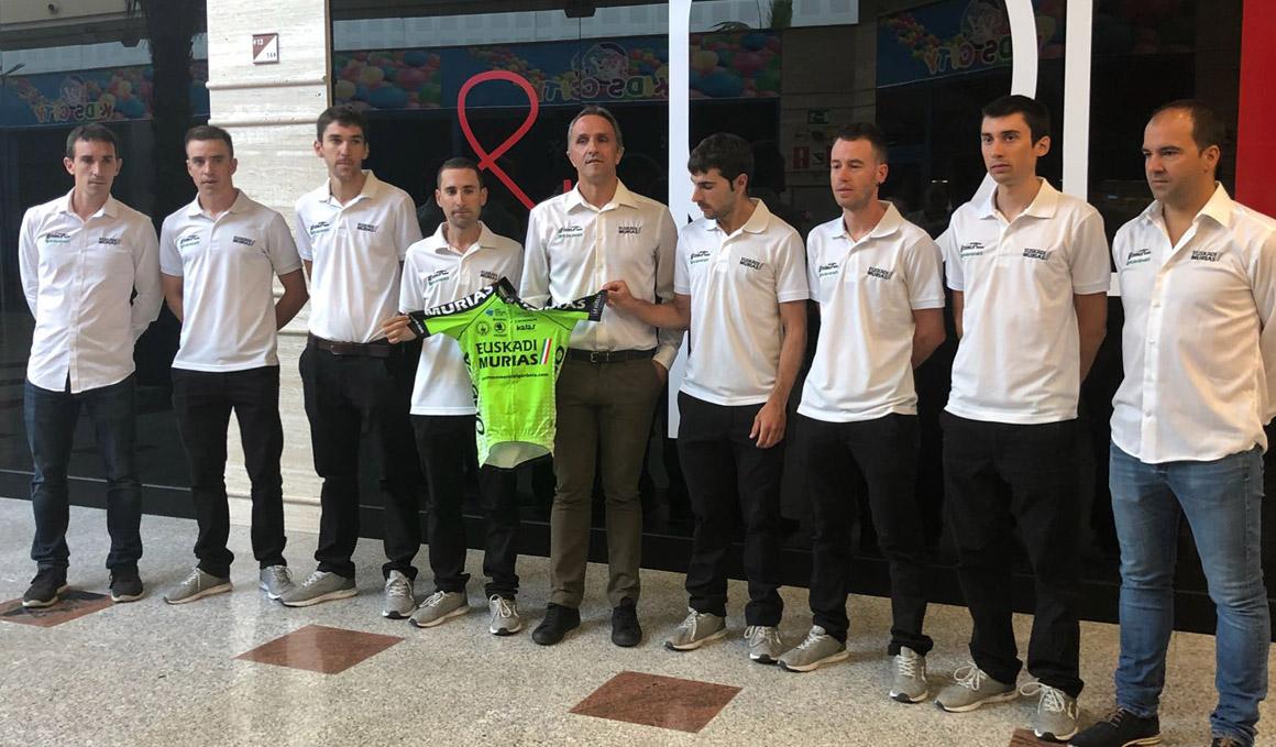 Euskadi-Murias, un equipo lleno de ilusión para La Vuelta