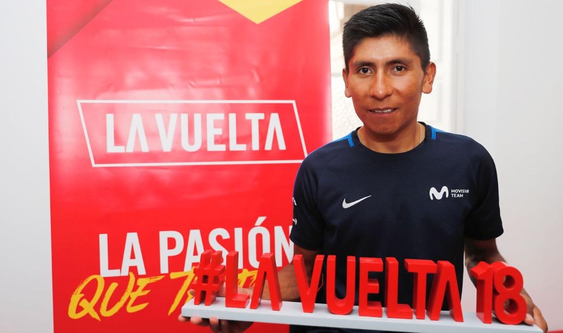 """Nairo Quintana: """"Vengo a intentar ganar La Vuelta"""""""