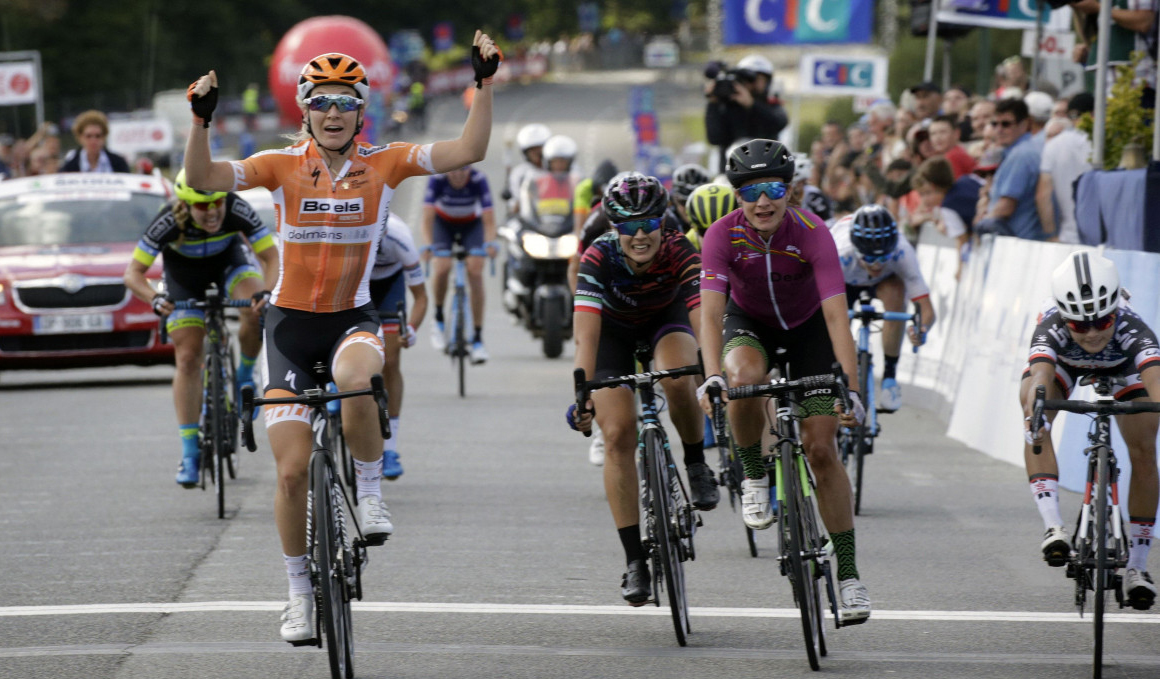 Tercer éxito 'WorldTour' del año para Amy Pieters, ganadora en Plouay