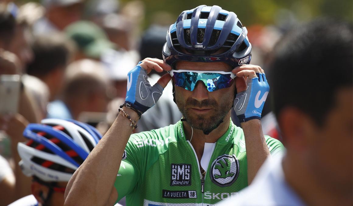 Valverde 'solo' esprintó para buscar una buena colocación